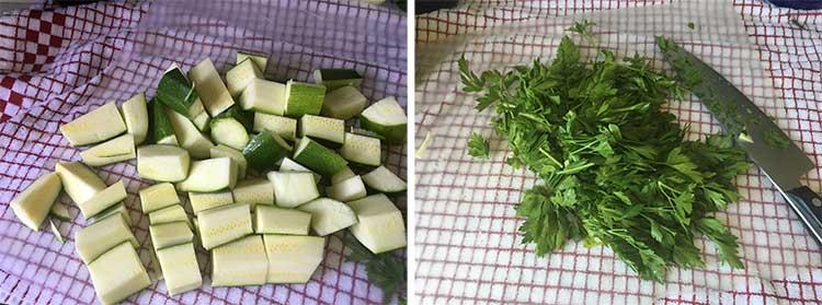 pre cut veggies